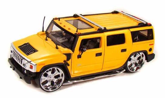 Jada: 1/24 Btk 2003 Hummer H2 – Diecast Model image
