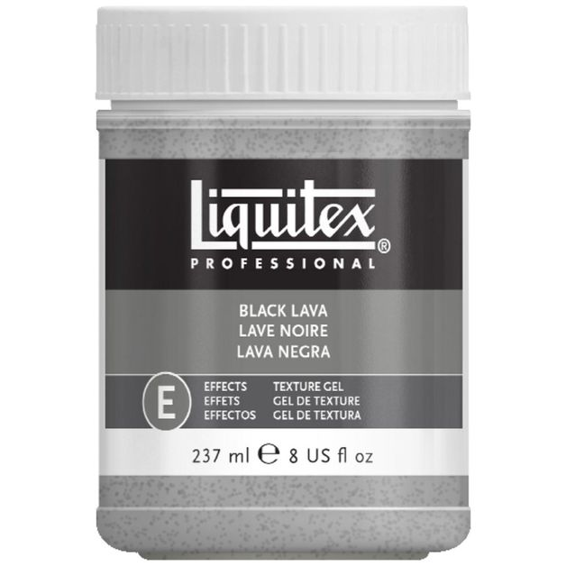 Liquitex: Black Lava Texture Effects (237ml)