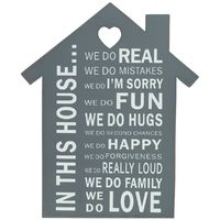 In This House... Shelf Plaque image