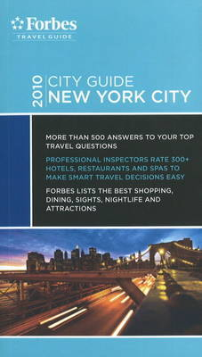 Forbes City Guide New York City by Kim Atkinson