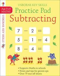 Subtracting Practice Pad 5-6 by Sam Smith