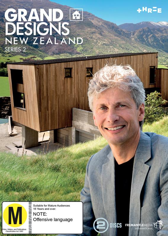 Grand Designs NZ - Series 2 on DVD