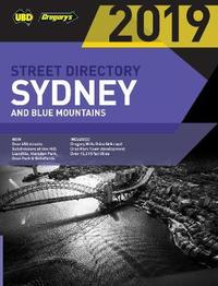 Sydney & Blue Mountains Street Directory 2019 55th ed by UBD / Gregory's