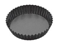 MasterClass: Non-Stick Round Loose Base Fluted Deep Flan/Quiche Pan (25cm)