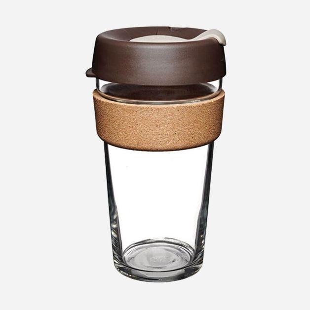 KeepCup Brew Cork Almond (16oz)