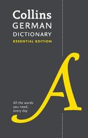 Collins German Essential Dictionary by Collins Dictionaries image