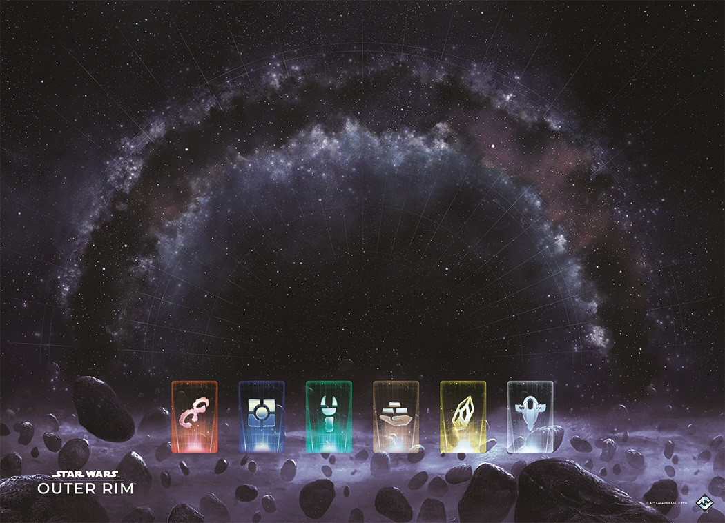 Star Wars: Outer Rim - Game Mat image