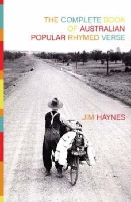 The Book of Australian Popular Rhymed Verse by Jim Haynes image
