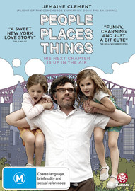 People Places Things on DVD