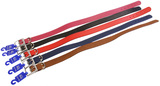 Genuine Leather Dog Collar 75cm - Assorted Colours