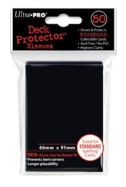 Ultra Pro: Deck Protector - Standard Black (100ct) image