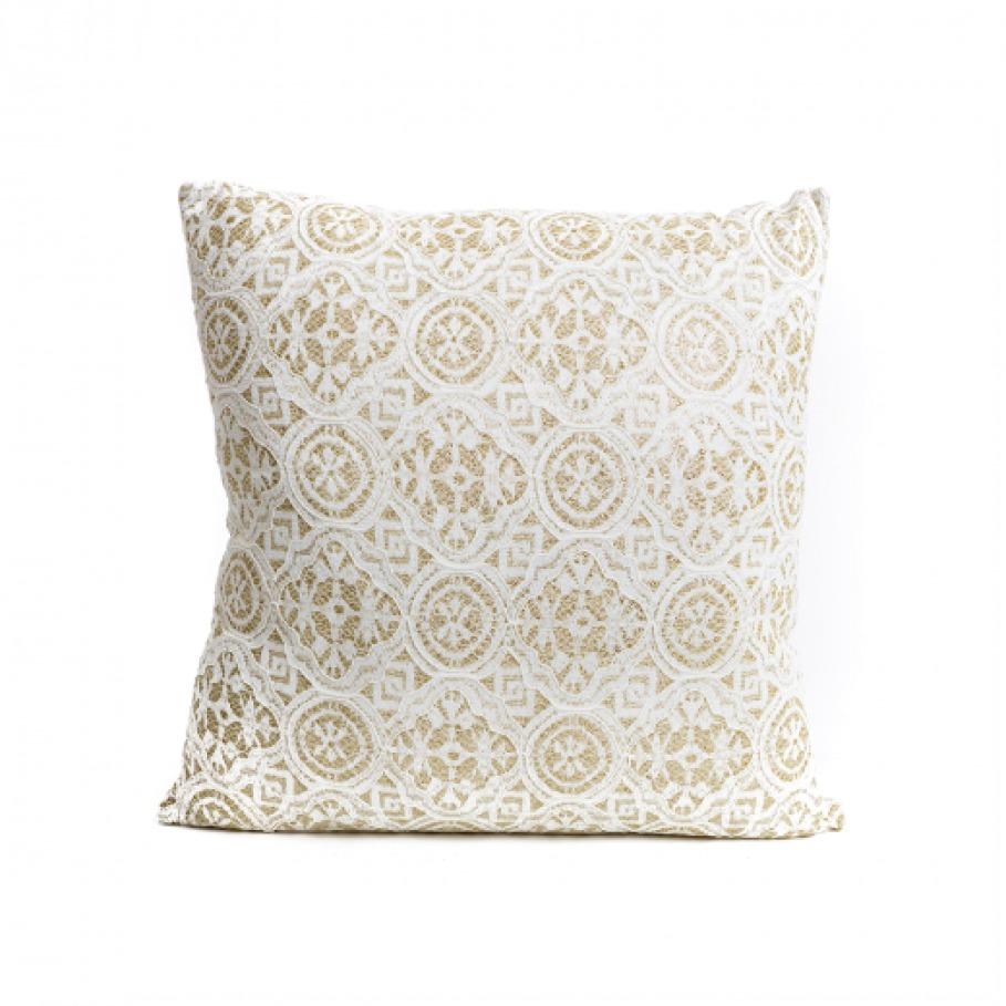 Gold & Lace Cushion image