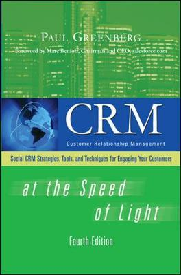 CRM at the Speed of Light, Fourth Edition by Paul Greenberg image
