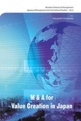 M&a For Value Creation In Japan