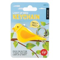 Tweeting Bird Keychain