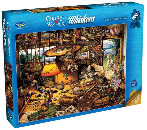Wysocki: Max in the Adirondacks - 1000 Piece Puzzle