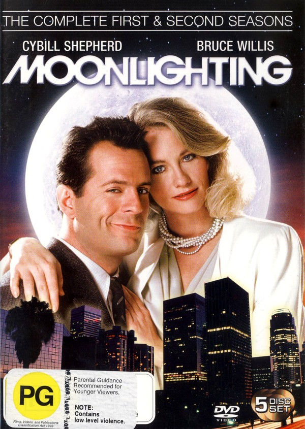 Moonlighting - Complete Season 1 And 2 (5 Disc Set) on DVD image