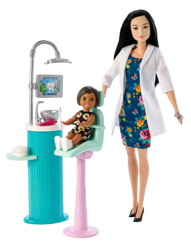 Barbie Careers - Dentist Playset (Black Hair)