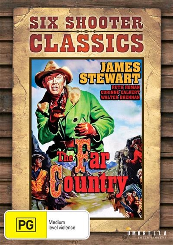 The Far Country (Six Shooter Classics) on DVD