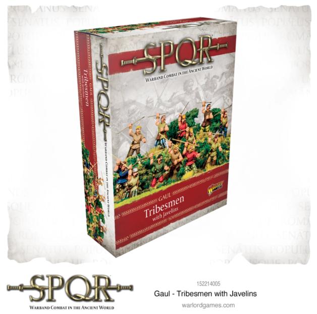 SPQR: Gaul Tribesmen with Javelins