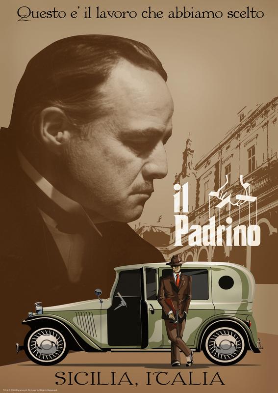 Godfather: Premium Art Print - il Padrino