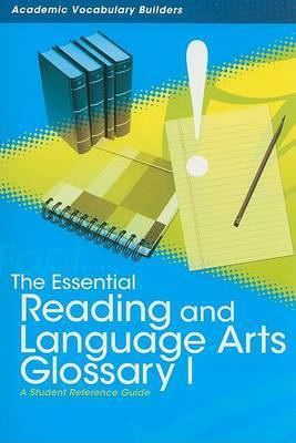 Essential Reading and Language Arts Glossary 1 by Red Brick Learning