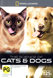 National Geographic: The Science of Cats and Dogs on DVD