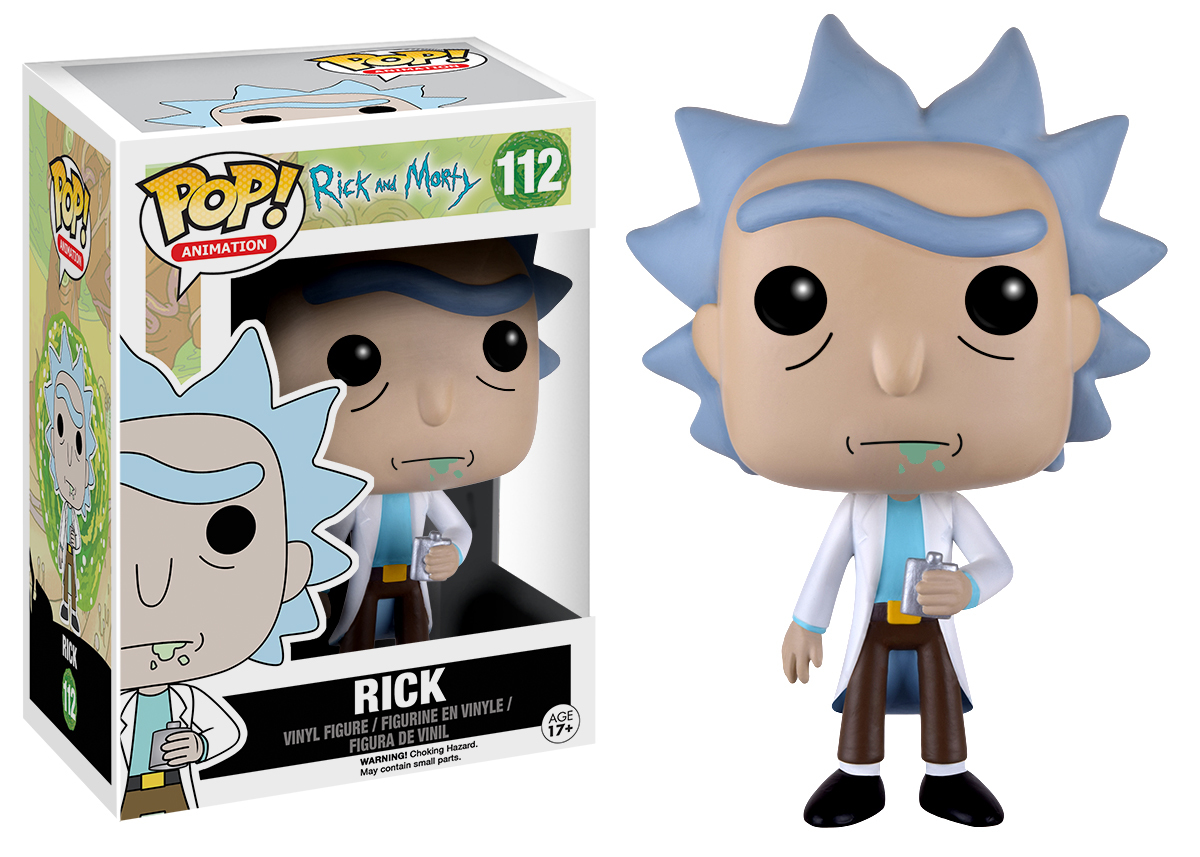 09461660cb7 Rick & Morty – Rick Pop! Vinyl Figure   at Mighty Ape Australia