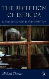 The Reception of Derrida by Michael Thomas image