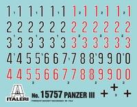 Italeri: 1:56 Pz.KPFW.III Ausf.J/L/MN (Warlord Games) - Model Kit image