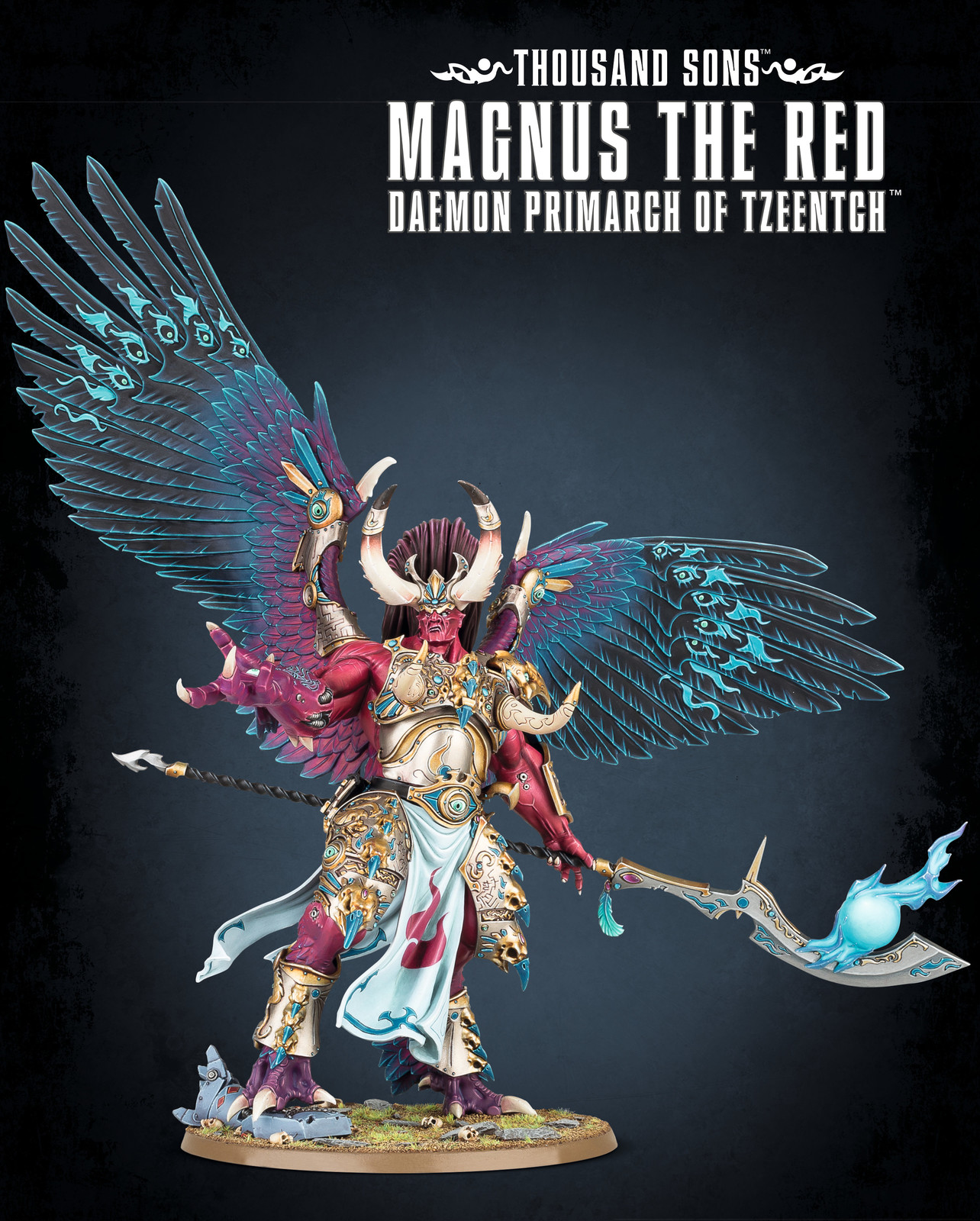 Warhammer 40,000 Thousand Sons Magnus the Red image