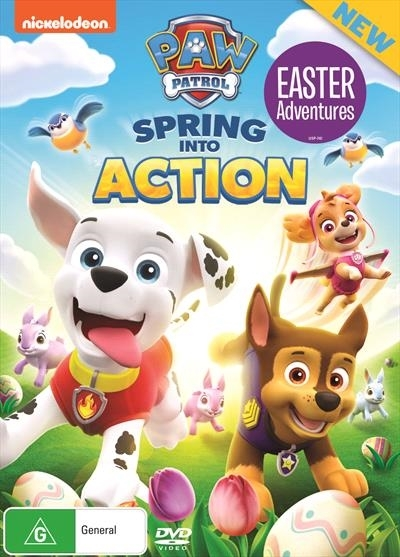Paw Patrol: Spring Into Action on DVD image