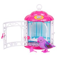 Little Live Pets: Secret Songbirds Bird Cage - Teenie Genie