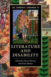 The Cambridge Companion to Literature and Disability image
