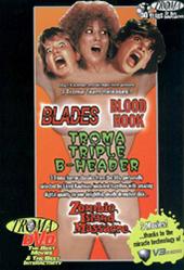Troma Triple B-Header: Blades/Blood Hook/Zombie Island Massacre on DVD