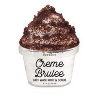 The Bonbon Factory Body Wash & Scrub - Creme Brulee (200g) image