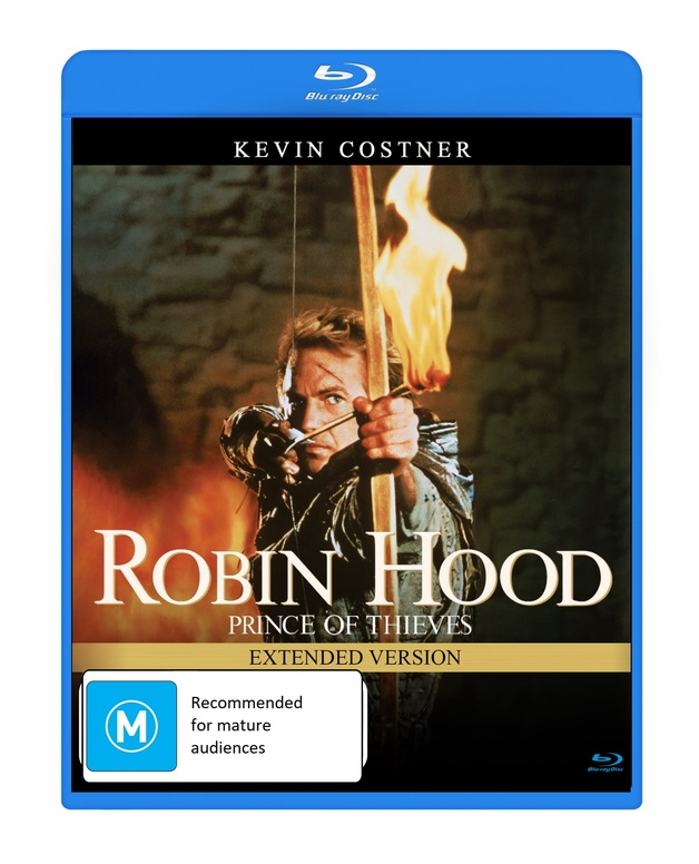 Robin Hood: Prince Of Thieves - Extended Version on Blu-ray