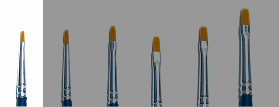Italeri: Brush Synthetic Flat size 000