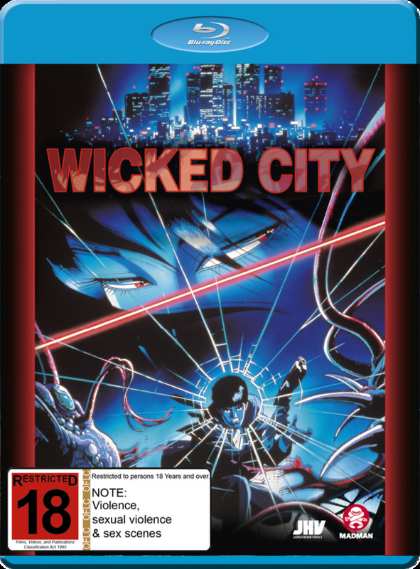 Wicked City on Blu-ray