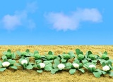9.5mm Broccoli & Cauliflower (HO Scale) 20 pack