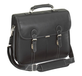 """Targus Leather Messenger Fits Up To 15.4"""" image"""