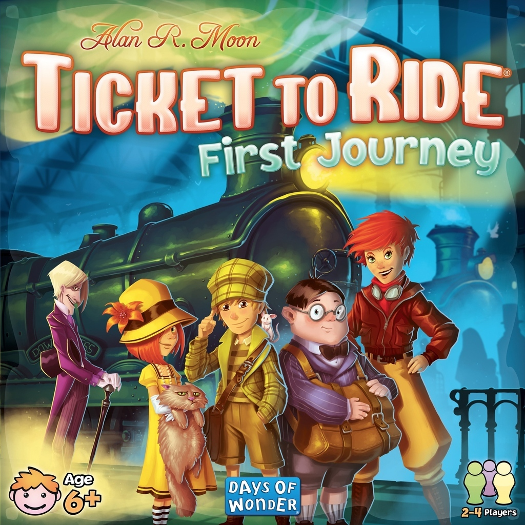 Ticket to Ride: First Journey - Board Game image