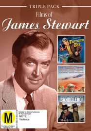 James Stewart - Triple Pack on DVD image