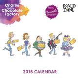Roald Dahl 2018 Wall Calendar