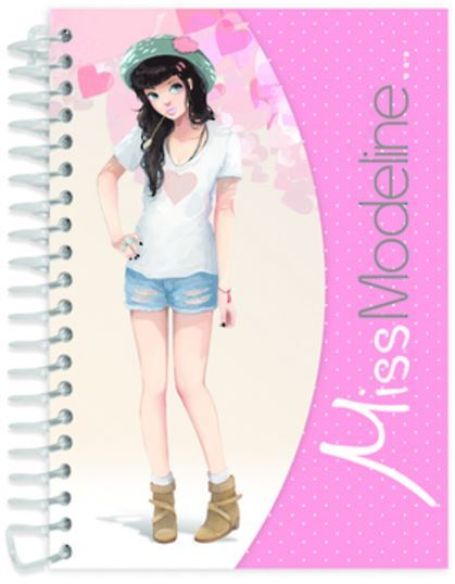 Miss Modeline A6 Notepad and Design Book - Perrine image