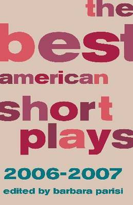 The Best American Short Plays 2006-2007 image