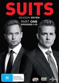 Suits - Season 7 (Part 1) on DVD image