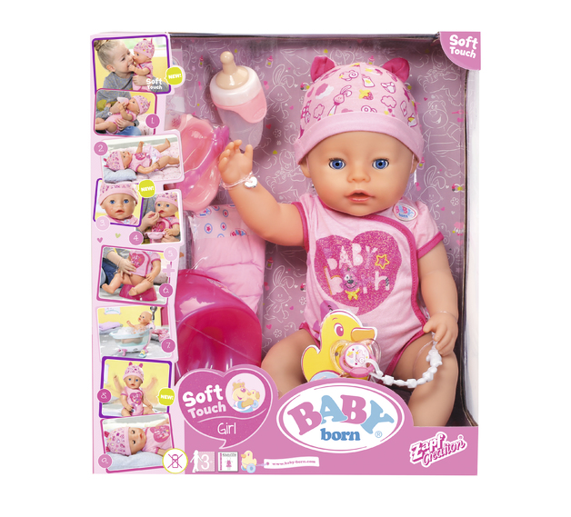 Baby Born: Soft Touch Doll - 43cm