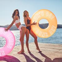 Sunnylife Pool Ring - Neon Orange