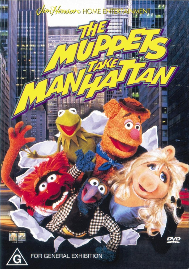 Muppets Take Manhattan on DVD image